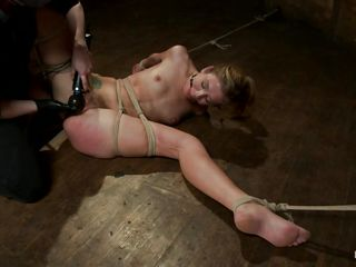 big juicy lips blonde being punished