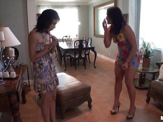 raquel receives a little help from her friends