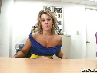 hot body milf swallowing a big marital-device