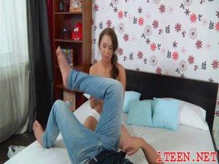 Girl curing her boyfriend