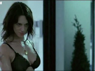 Bonerific Italian Hottie Asia Argento Walking Around In Black Lingerie