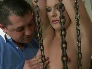 Sexy girl getting punished and screwed