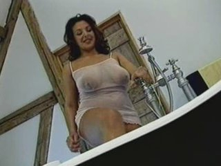 British Breasty MILF gets fucked in the bath