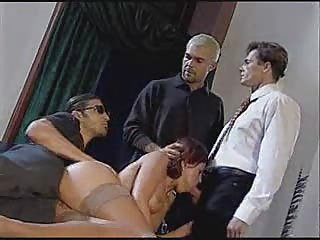 italian housewife fucking with 2 guys infront of her spouse