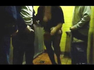 Public toilet wife dogging