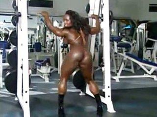 Black female muscles
