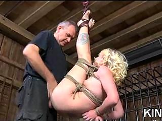 Tricia Oaks fucked & spanked