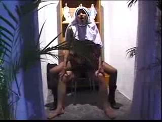 Lascivious TS nun wanted anal