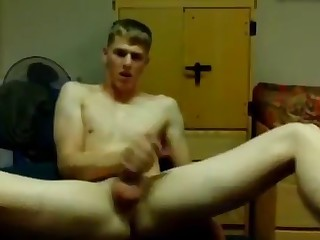 hot college boy jerking off