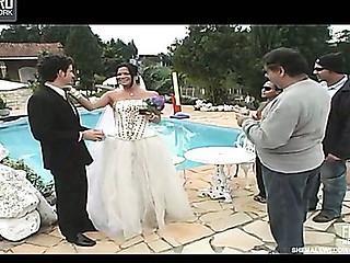 Carol cocky tranny bride