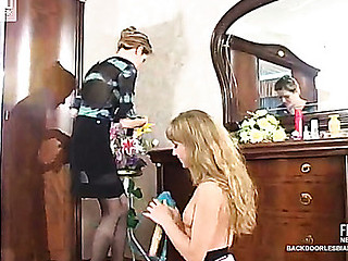 Diana&Ninette perverted anal lesbo video