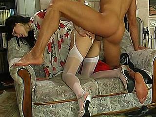Emmie&Maurice nasty nylon movie