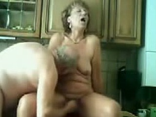 My Mum Gets Drilled In The Kitchen