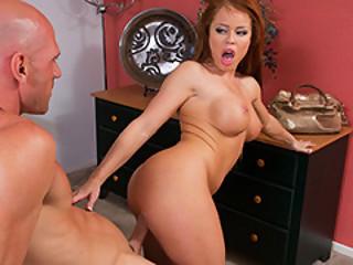 Housewife Nikki Delano Ride Johnny's Hard Schlong