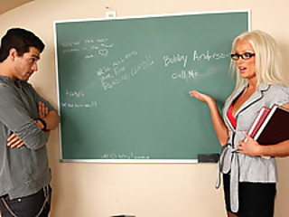 Student Take Advantage Of His Hawt Professor