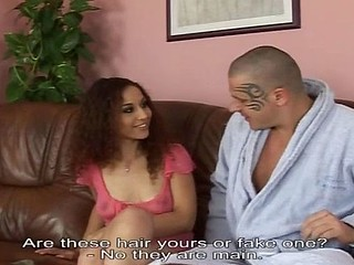 Skinny European babe acquires taught the secrets of hardcore sex