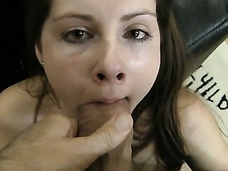 Paula A is getting her mouthful