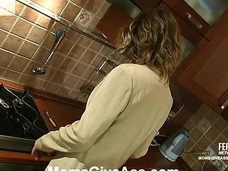 Christie&Richard anal mama on movie