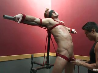 christopher enjoying the bdsm punishment!