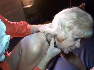 blonde ganny acquires punished hard