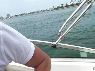 sluts sucking cock on a boat