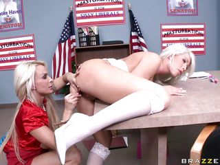 brooke haven gets a dirty lesson in politics