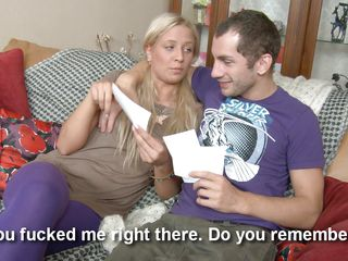 sexy blond babe knows to satisfy her chap