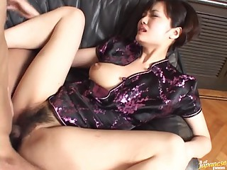 Hawt Asian Fucking And Sucking With Her Hawt Japanese Outfit