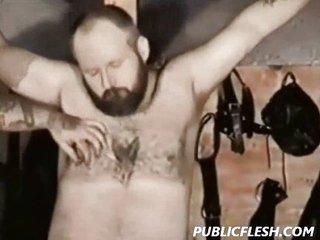 Gay Bear Spanking And Bondage