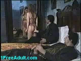 Classic Italian threesome- part 1