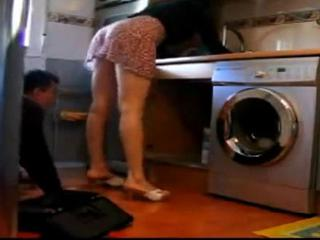Mature seducting plumber