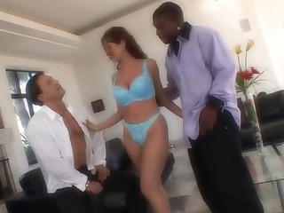 Threesome with a hawt wife