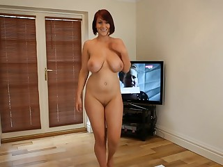 Dirty Dancing: Nude Busty Brit Strip