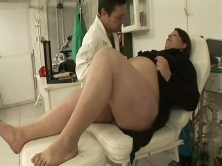 Pregnant BBW Team-fucked By Her Gynaecologist