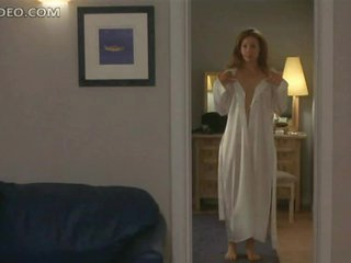 Heart-Stopping Blonde Chick Alex Kingston Shows Her Bush and Boobs