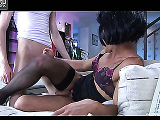 Chris&AustinA cockloving sissy in act