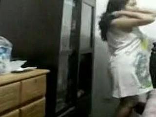 Chubby amateur nude on hidden cam