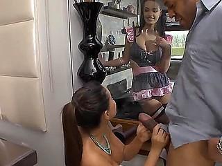 Valentina Nappi is a busty maid