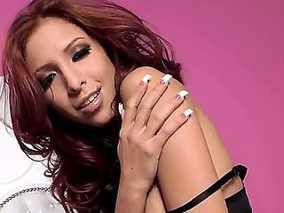 Awesome redhead babe Cydel in a