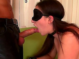 Handsome pale cock hungry pliant brunette hair