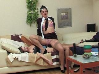 Martha&Gertie vivid lesbo older action