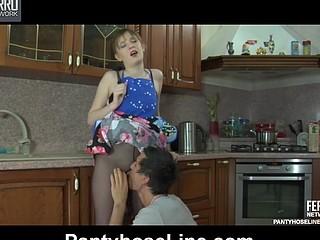 Dorothy&Vitas kinky pantyhose movie