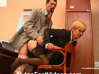 Cassandra&Vitas hawt nylon feet movie