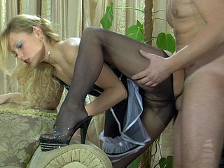 Blanch&Adam uniform hose sex movie
