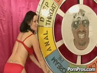 Two whore Tatiana and Naomi battle for Alpha Whore status!