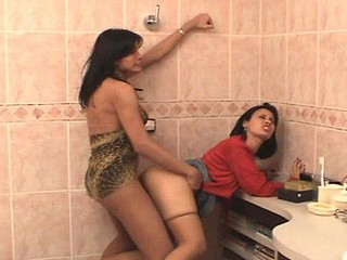 Michele transsexual dicking girl on movie